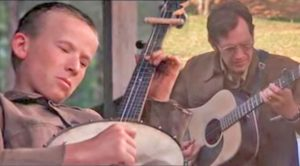 "Musicians Battle It Out In Deliverance's ""Dueling Banjos"" Scene"