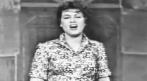 Undated Footage Shows Patsy Cline Yodeling To 'San Antonio Rose'