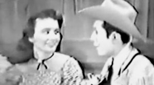 Hank Williams Sings Duet With June Carter's Sister, Anita Carter, In 1952
