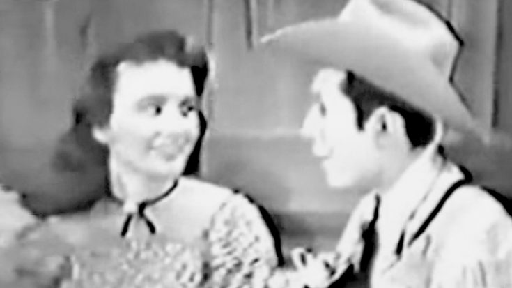 Hank Williams Sings Duet With June Carter's Sister, Anita Carter, In 1952 | Classic Country Music Videos
