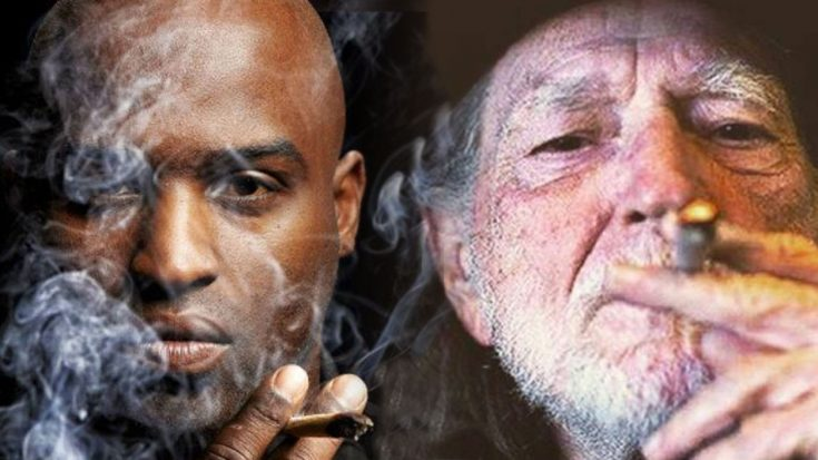 """Football Player Ricky Williams Tells Story Of Being """"Out-Smoked"""" By Willie Nelson 