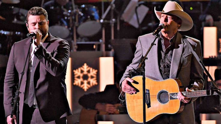 alan jackson chris youngs heavenly new kid in town is the christmas duet you cant miss classic country music