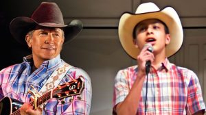 """Little Cowboy Will Make Your Heart Soar With Impressive """"I Cross My Heart"""" Tribute"""