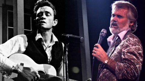 """Johnny Cash First Recorded """"The Gambler"""" Before Kenny Rogers Ever Did 