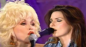 Throwback: Dolly Parton And Shania Twain Perform 'Coat Of Many Colors'