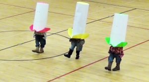 "Little Cowboys, Huge Hats! 3 Students Give Hysterical Dance To ""Elvira"""