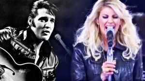 """Leather-Clad Faith Hill Delivers Cover Of Elvis Presley's """"That's All Right"""""""
