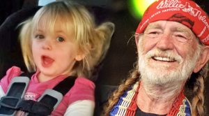 3-Year-Old Sings Willie Nelson's 'On The Road Again'