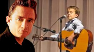 Explosively Talented Second Grader Shocks Crowd With Insane Johnny Cash Performance