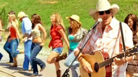 "Video Teaches Steps To Line Dance In Alan Jackson's ""Good Time"" Video 