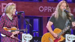 Jamey Johnson & Alison Krauss Sing Carter Family's 'My Dixie Darling' At Opry