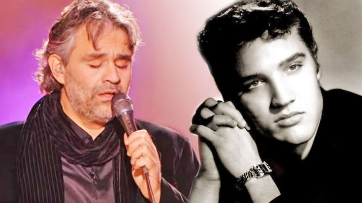 Andrea Bocelli's Ode To Elvis' 'Can't Help Falling In Love You' | Classic Country Music Videos
