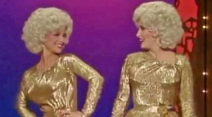 Dolly Parton's Reaction To Barbara Mandrell's Spot-On Impression Of Her Will Have You In Stitches