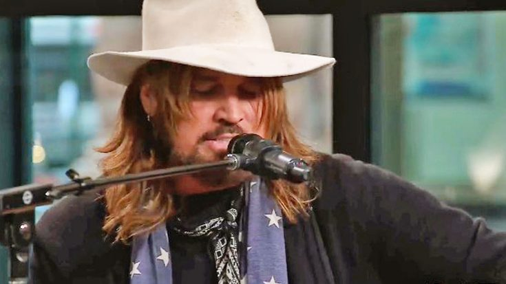 Billy Ray Cyrus Builds On Tradition With Authentic Cover Of Johnny Cash's 'Folsom Prison Blues'   Classic Country Music Videos