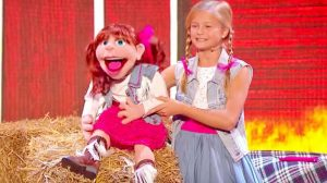 Darci Lynne Blows Audience Away Yodeling With Puppet To 'Cowboy's Sweetheart'