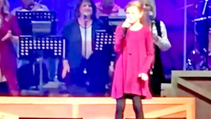Ventriloquist Darci Lynne Farmer Drops Jaws Singing 'Blue