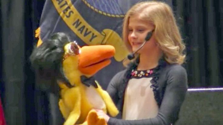 """13-Year-Old Darci Lynne & Her Elvis-Impersonating Puppet Perform """"(You're the) Devil in Disguise""""   Classic Country Music Videos"""