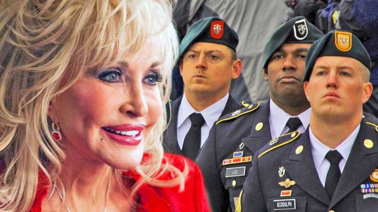 Dolly Parton Delivers Tribute To The Troops With 'Ballad Of The Green Berets' | Classic Country Music Videos