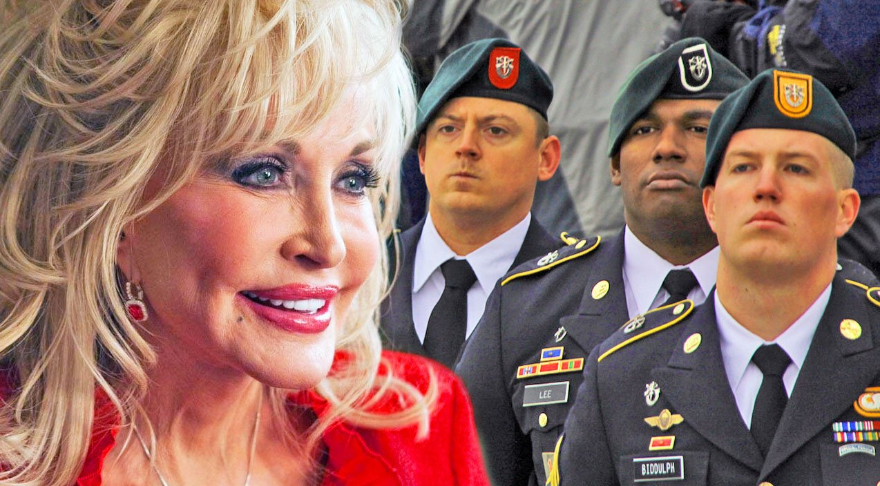 Dolly Parton Delivers A Glorious, Emotional Performance Of 'Ballad Of The Green Berets'