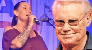 Georgette Jones Sings 'Choices' To Honor Father George At 2017 Nashville Show