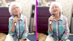 "Spunky Grandma Sings Sugary-Sweet Rendition Of Charley Pride's 'Kiss An Angel Good Mornin"""