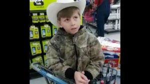 Outstanding Little Boy Serenades Walmart With Jaw-Dropping Hank Williams Mash Up