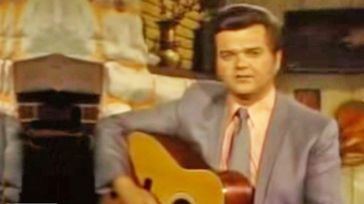 """Conway Twitty Sings """"Hello Darlin'"""" In Early 70s Television Performance 