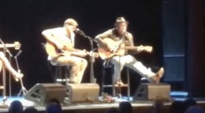 """Vince Gill And James Taylor Perform """"Bartender's Blues"""" At Country Music Hall of Fame Event"""