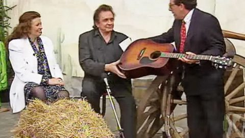 """Johnny & June Interview Turns Into A Performance Of """"Jackson"""" 