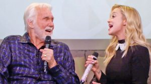 Kenny Rogers Enlists Kellie Pickler For 'Islands In The Stream' Duet That's As Cute As Can Be