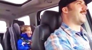 Cuddly 3-Year-Old Proudly Belts Out Toby Keith's 'Should've Been A Cowboy'