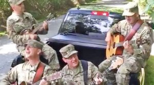 These Soldiers Jamming Out To 'Country Roads' Will Melt Your Heart