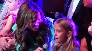 "St. Jude Patient Unexpectedly Steals Country Legends' Hearts With ""Angels Among Us"""