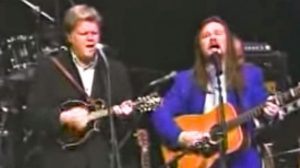 Hear The Sweet Sound Of Travis Tritt & Ricky Skaggs Singing Together On 'Man Of Constant Sorrow'