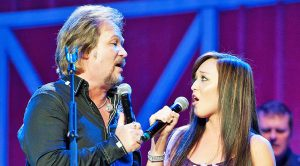 Travis Tritt & Daughter Tyler Wonderfully Sing Waylon Jennings & Jessi Colter's 'Storms Never Last'