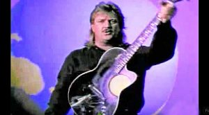 "Joe Diffie Sports A Mullet During 1994 Song ""Third Rock From The Sun"""