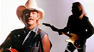 "Keith Urban Was In Alan Jackson's 1994 ""Mercury Blues"" Music Video"