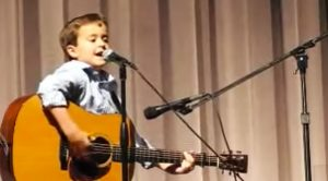 Second Grader Jolts Audience With Unthinkable Guitar Skills In Southern Classic