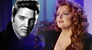 "Young Wynonna Judd Endures Holiday Heartbreak In Elvis' Iconic ""Blue Christmas"""