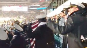 Army And Navy Unite Despite Huge Rivalry To Sing Inspiring 'God Bless The USA'