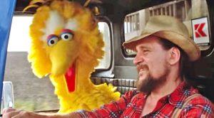 Waylon Jennings Sings Duet With Big Bird In 1985 'Sesame Street' Movie 'Follow That Bird'
