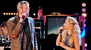 Blake Shelton And 'Voice' Star Honor Kenny & Dolly With 'Islands In The Stream'