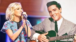 Carrie Underwood Joins Elvis For Virtual 'I'll Be Home For Christmas' Duet