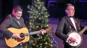 You Have To Hear What Happens When 'Dueling Banjos' Gets A Jolly Christmas Twist