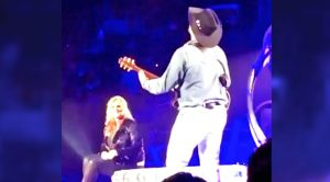 Emotional Trisha Yearwood Lovingly Watches As Garth Brooks Sings Anniversary Serenade