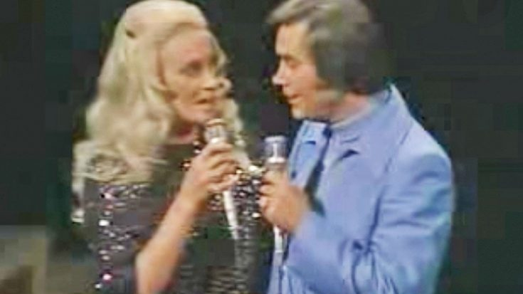 George Jones & Tammy Wynette Perform 'Golden Ring' For The First Time Post Divorce   Classic Country Music Videos
