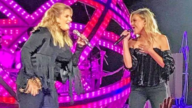 Trisha Yearwood Brings Out Kelsea Ballerini For 2017 'She's In Love With The Boy' Duet