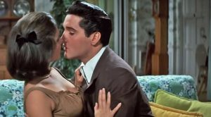 Elvis Gets Up Close & Steamy With Beautiful Costar In Sensual Scene
