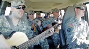 Soldiers' Impromptu Performance Of 'Wagon Wheel' Will Make Your Jaw Drop