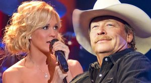 Carrie Underwood Sings Angelic Rendition Of Alan Jackson's 'Remember When'
